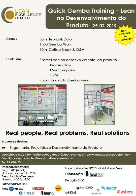 Quick Gemba Training - Lean in Product Development