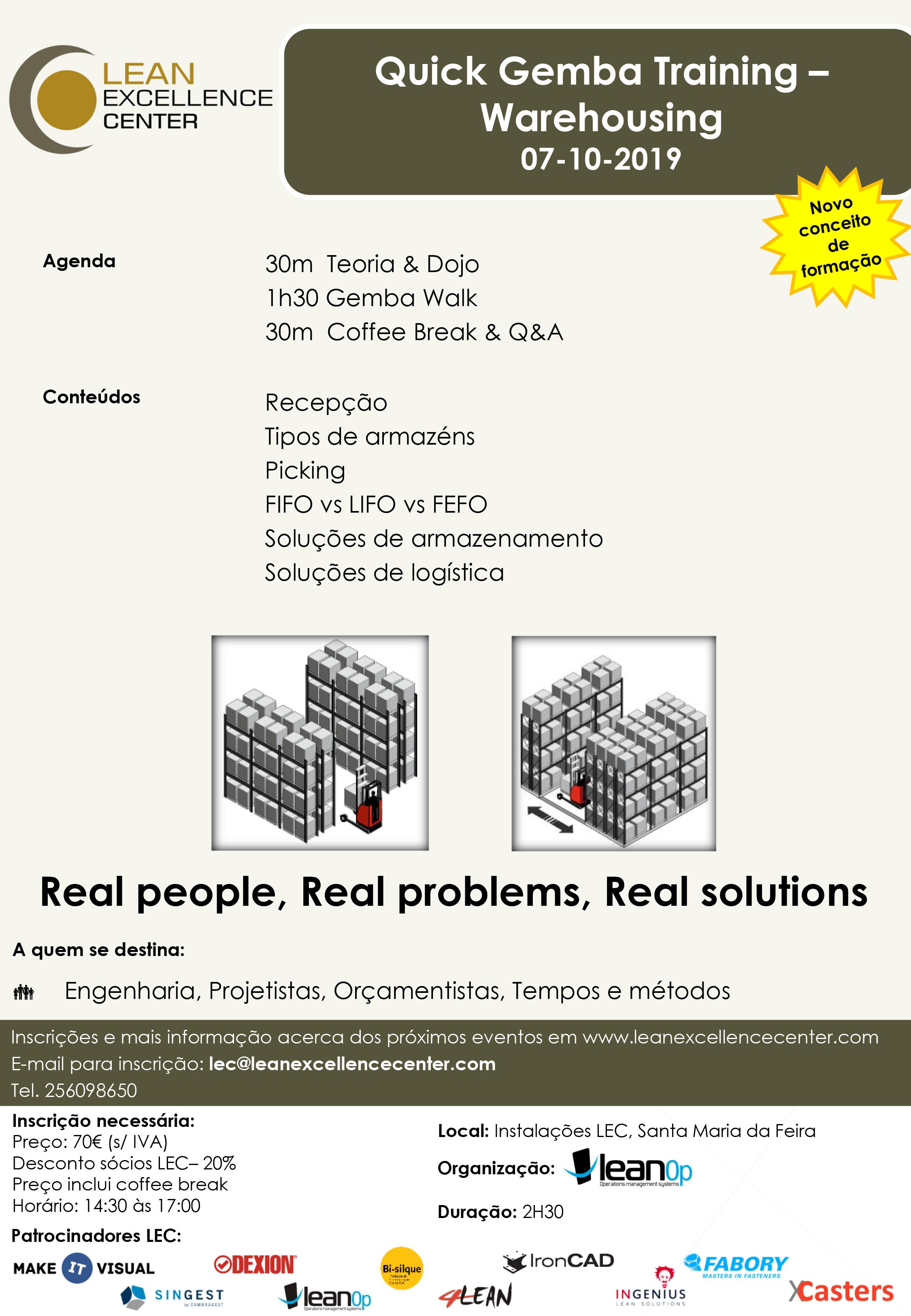 Quick Gemba Training – Warehousing
